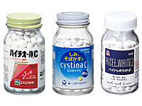 Lシステイン製剤・ハイチオールC・システィナCなどの画像