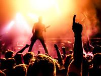ライブコンサートの画像