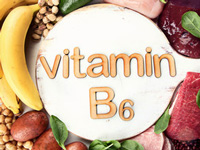 ビタミンB6のイラスト