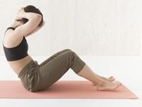 腹筋運動の画像