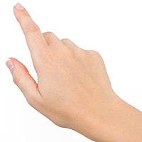 手の甲の画像