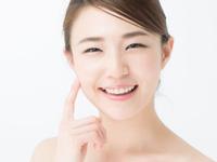 キレイな肌の女性の写真