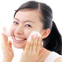 ニキビ洗顔の写真