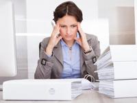 ストレスと悩みの画像