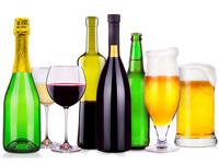 ワインやビールの画像