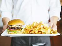食べる画像