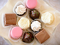 甘い食べ物の画像